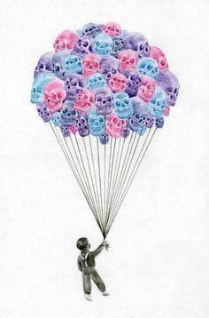 SkullsBalloons
