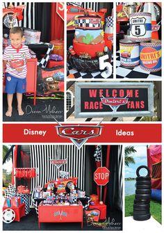 Disney Cars 5th Birtday Boy   CatchMyParty.com By www.dreammakersparty.com
