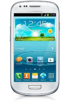 "Samsung Galaxy S III mini (I8190) - Smartphone libre Android (pantalla 4"", cámara 5 Mp, 8 GB, Dual-Core 1 GHz, 1 GB RAM), blanco B00A29WCA0 - http://www.comprartabletas.es/samsung-galaxy-s-iii-mini-i8190-smartphone-libre-android-pantalla-4-camara-5-mp-8-gb-dual-core-1-ghz-1-gb-ram-blanco-b00a29wca0.html"