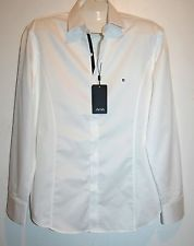 AVVA Men's White Black Lining Cotton Slim Fit Blouse Shirt Size 2XL NEW!