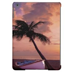 Beach Sunset iPad Air Cover