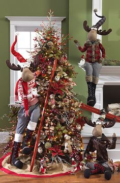 2014 Owl Be Home For Christmas Tree by RAZ Imports