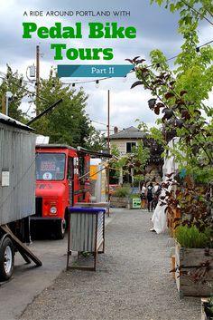 Pedal Bike Tours #Portland #Oregon #USA