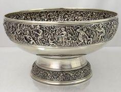 Antique Silver Bowls