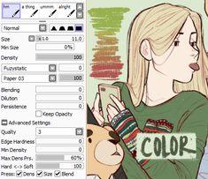 brush settings | Tumblr