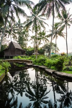 Bambu Indah in Ubud, Bali: an extraordinary eco-chic retreat. i-escape.com