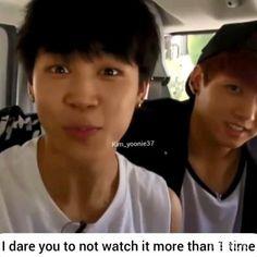(credits to the real owner) ★·. Bts Jimin, Bts Aegyo, Bts Taehyung, Bts Bangtan Boy, Seokjin, Hoseok, Namjoon, Bts Funny Videos, Bts Memes Hilarious