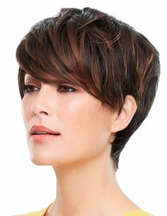 Evan Wig by Jon Renau... Chic and sassy, this updated pixie cuts a sleek silhouette. Featuring a Smartlace front and open cap design providing instant volume for quick, cool wearability.