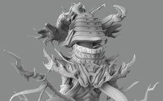 ArtStation - Samurai Psylocke, Jake Burstein