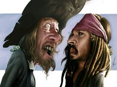 Pirates Of The Caribbean by Alex Gallego, final art