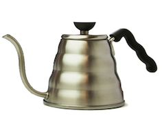 The Buono pouring kettle complements Hario's other brewing gear, making it a great fit for fans of the V60.