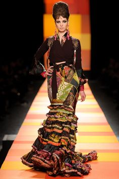 jean paul gaultier haute couture s/s 2013 | visual optimism; fashion editorials, shows, campaigns & more!