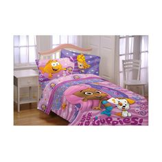 Bubble Guppies Fun Guppies Bedding Comforter ($37) ❤ Liked On Polyvore
