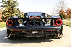 The Ford GT has one of the most legendary supercar designs in the world, built as an homage to the 1964 race car Ford Used Luxury Cars, Luxury Cars For Sale, Rolls Royce Ghost Black, Ford Gt For Sale, Luxury Garage, Ford Gt40, Car Prices, Unique Cars, Car Ford