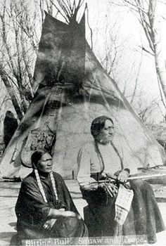 Sitting Bull and wife Travoriet, South Dakota-1882. This would have been 8 years before his death. Read more about his life here: http://traditionalnativehealing.com/sitting-bull-and-general-custer