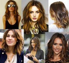 Lust List :: Shoulder Length Hair, Tousled Curls, Beach Wave curls
