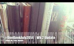 #onebookjuly2014 | Week 2 Update