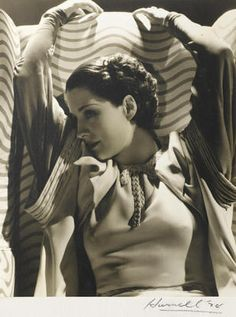A group of three Hurrell photographs of Norma Shearer
