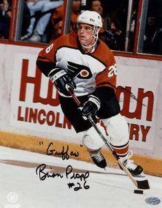 Brian Propp - Phildelphia Flyers (a local hero where I grew up! Local Hero, Influential People, Philadelphia Flyers, Bullies, Athletes, Nhl, Captain America, Growing Up, Hockey
