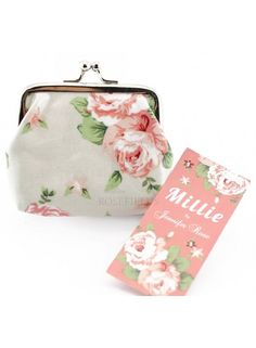 Millie Floral Coin Purse @ rosefields.co.uk