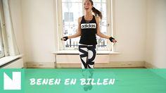 Work-out met Foodie-ness: de beste oefeningen voor strakke benen en billen - YouTube