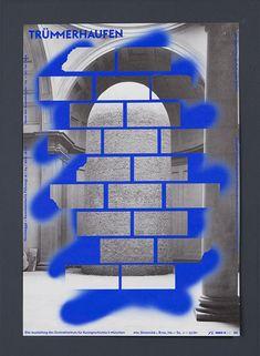 Trümmerhaufen — The Rodina – graphic design & code — vampire supermodernism graphic design