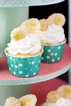 Banana Cream Pie Cupcakes by Courtney | Cook Like a Champion, via Flickr