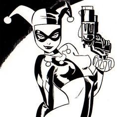 Bruce Timm Vampirella Harley Quinn Spider Man Batgirl Black Cat 2006 Sketchbook | eBay