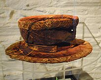 oh my! Henry VIII Cap of Maintainance Waterford Treasure Museum in Ireland - the only remaining piece of clothing left actually worn by the famous king
