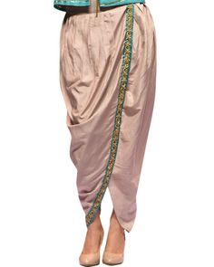 Make Your Look Awesome As You Deck Up This Readymade Designer Long Jacket  With Draped Dhoti f34416d28f776