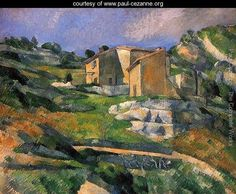 Paul Cezanne Most Famous Works | ... The Riaux Valley Near L Estaque - Paul Cezanne - www.paul-cezanne.org