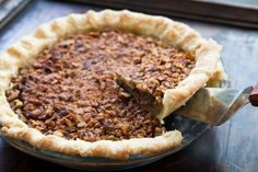 Walnut Maple Pie Recipe - I actually did this by accident one year and it turned out awesome!