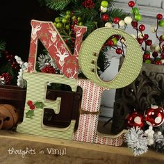 Christmas DIY Crafts | These make great gifts too | Thoughts in Vinyl   Kit 15.95