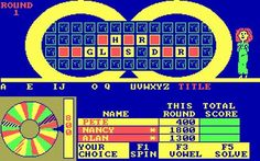 Wheel of Fortune Computer Game