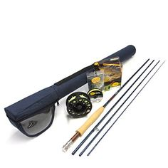 Redington Crosswater 5864 Fly Rod Outfit 86 5wt 4pc ** Want to know more, click on the image. Fishing Rods And Reels, Fly Fishing Rods, Fly Rods, Topwater Lures, Golf Clubs, Survival, Outfit, Free Shipping, Ebay