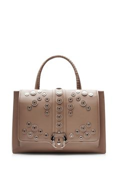 Embellished Leather Handbag by Paula Cademartori (=)