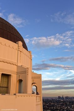 Griffith Observatory is a popular spot for both locals and tourists + Click through to see 25 Free Things to Do in Los Angeles // localadventurer.com
