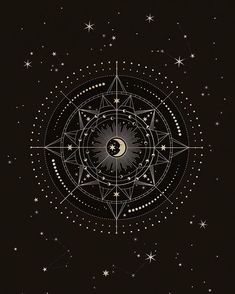My day today was very focused on protective energy, protection symbols and protection thoughts. I had discussions and researched a lot to… Sun Moon, Stars And Moon, Moon Phases, Tatoo Symbol, Symbole Protection, Geometric Tatto, Arte Obscura, Moon Art, Sacred Geometry