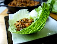 Chinese Chicken Lettuce Wraps - I Wash You Dry