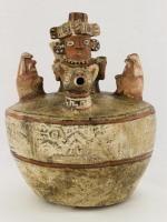 Vessel, Recuay, Peru, north highlands, 100 B.C.E. - 600 C.E., Ceramic, Fowler Museum at UCLA. Fowler Museum at UCLA. X66.1264.