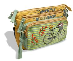 Crossbody Bag by Coelacanth Suitcase, Crossbody Bag, Bike, Summer, Gifts, Bicycle, Summer Time, Presents, Suitcases