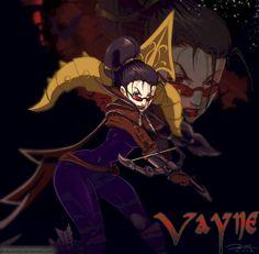 Vayne by slinkyonion on deviantART