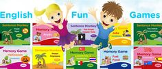 ESL Games Plus offers interactive online games for learning and teaching English as a Second Language. Our learning games are mostly suitable for teaching ESL Kids and Teenagers. Esl Games, Fun Educational Games, Grammar Games, Spelling Games, Spelling Activities, Vocabulary Games, Learning Games, Vocabulary Sentences, Vocabulary Strategies