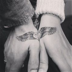 33 Matching Tattoos For Couples Who Are in It to Win It: Couples' tattoos can be pretty hit or miss. #tattoosforcouples
