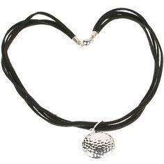 Black and silver necklace. www.shazbamdecor.com.