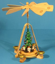 Angels Christmas Tree German Pyramid Pyrx