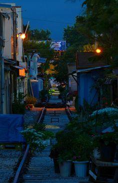 군산 경암동,철길마을 Korea