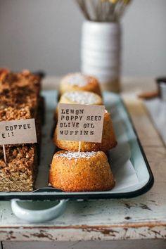 lemon poppyseed olive oil muffins recipe