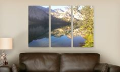 """Groupon - 36""""x24"""" or 45""""x30"""" Triptych Photosplit from Canvas On Demand (Up to 79% Off). Free Shipping. in Online Deal. Groupon deal price: $59.99"""