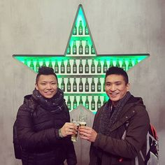 Shout out to my brother who bested me at the @heinekenexperience competition. Once a superstar always a superstar   Join me in wishing him a Happy birthday ...hope you are enjoying your international travels #again  Can't wait to see you in a couple of weeks!! #birthdayboy  #superstar